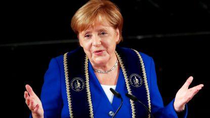 Angela Merkel blijft populair: meerderheid van de Duitsers wil dat ze haar termijn uitzit tot 2021