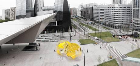 Rotterdam krijgt twee 'gele ballen' op stationsplein