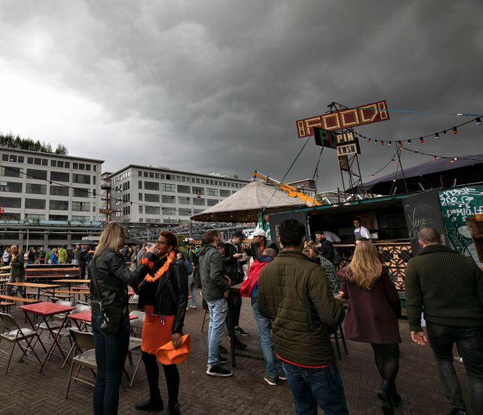 Koningsdag op Strijp-S in Eindhoven.