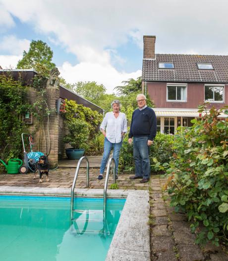Jaap en Marja kochten hun huis in Wassenaar in 1977 vanaf de tekentafel: 'Het zwembad was een gouden zet'