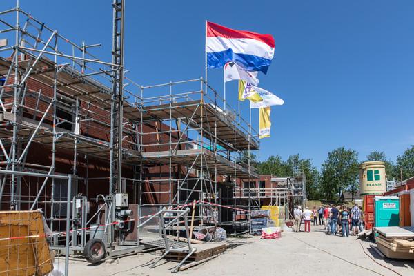 In Yerseke is een woonlocatie van Zeeuwse Gronden in aanbouw.