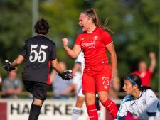 FC Twente Vrouwen begint competitie op Diekman met ruime zege