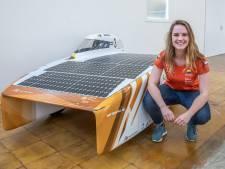 Zwolse Maud leidt bouw zonne-raceauto: 'Geen olie, geen benzine, alleen zonnepanelen'