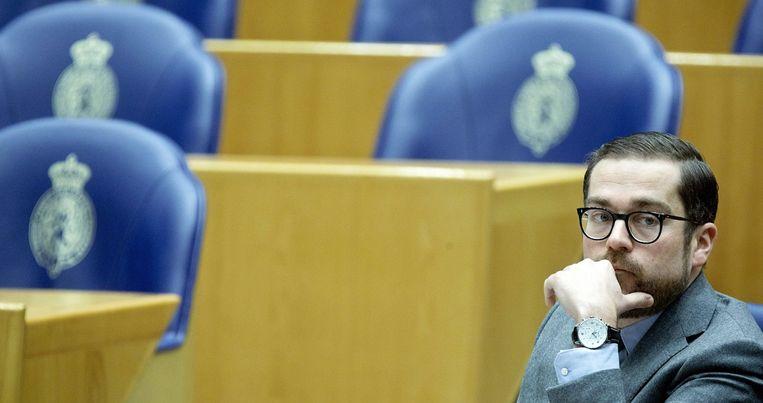 VVD-staatssecretaris Klaas Dijkhoff moet binnen Europa gaan pleiten voor de radicale aanpak Beeld anp