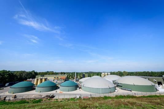 Bij Groot Zevert in Beltrum wordt biogas met een equivalent van bijna 7 miljoen kubieke meter aardgas per jaar opgewekt.