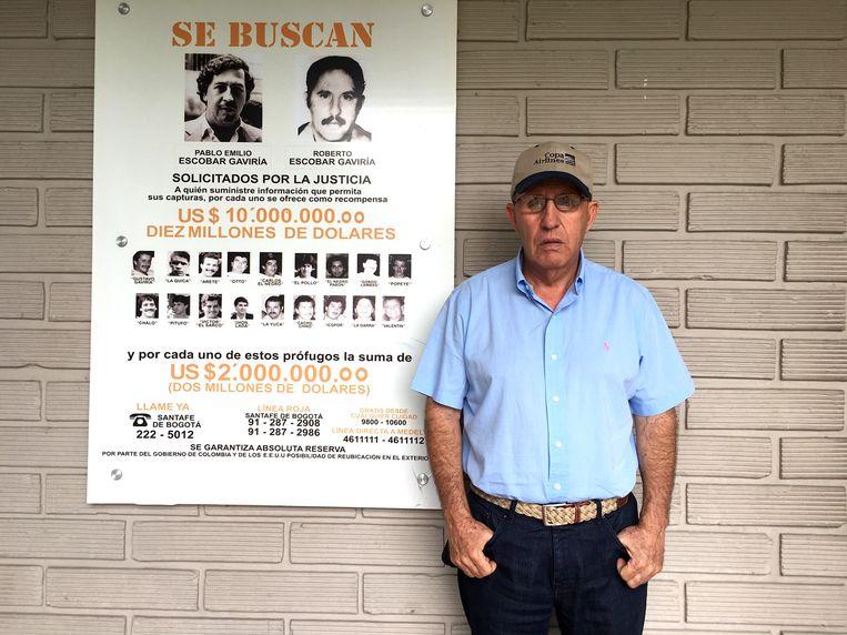 Roberto, broer van Pablo Escobar. Beeld Haroon Ali