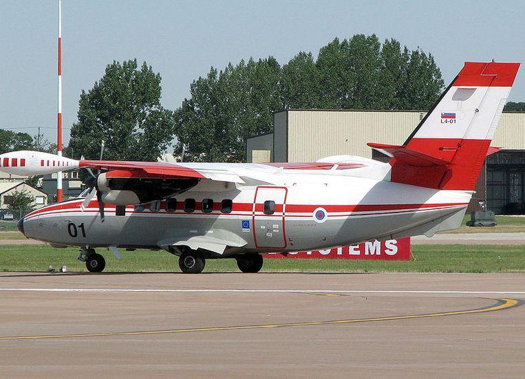 Een Let L-410 (stockbeeld)