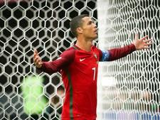 Ronaldo heeft na 75ste goal voor Portugal alleen Puskas voor zich