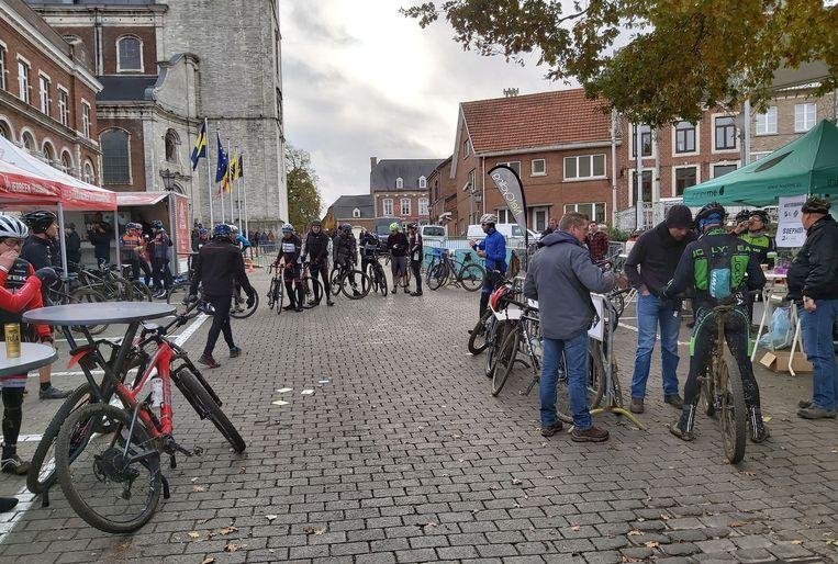 De Frans Claes Classic met start en aankomst aan het Gemeenteplein