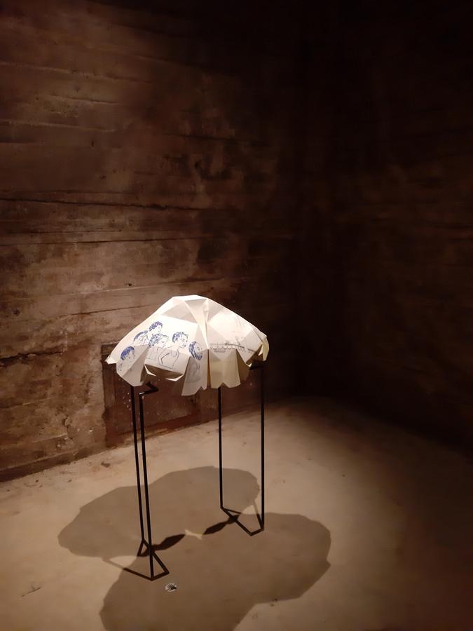 Expositie Passanten Noordkade Veghel, werk 'De Passant', 2019, Véronique Driedonks.