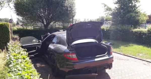 Verdachte brandstichting Maserati van scootertycoon opgenomen in Pieter Baan Centrum.
