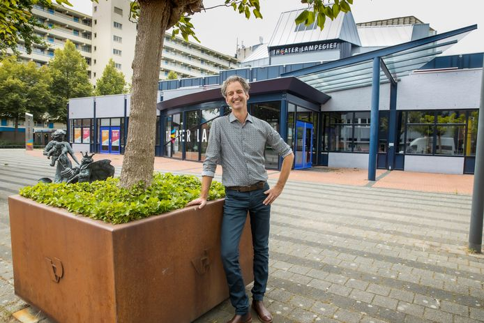 Patrick Marcus, directeur van theater Lampegiet in Veenendaal.
