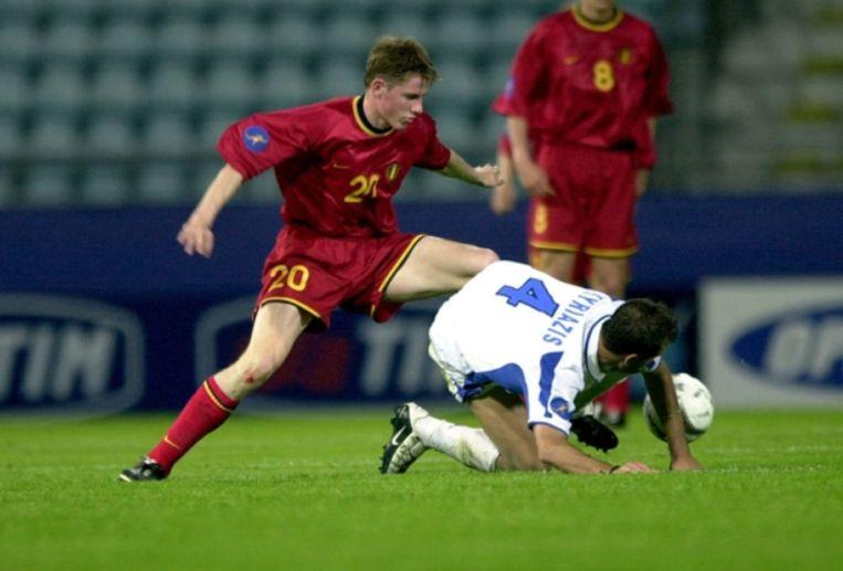 De Jonge Duivels winnen hun eerste match op het EK in Zwitserland met 2-1 tegen Griekenland. De doelpuntenmakers: Koen Daerden en Tom Soetaers.