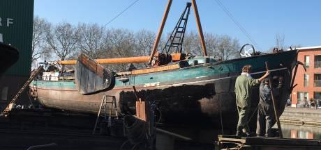 Bijzondere 'gast' op Museumwerf Vreeswijk: schip waarvan er waarschijnlijk geen tweede is