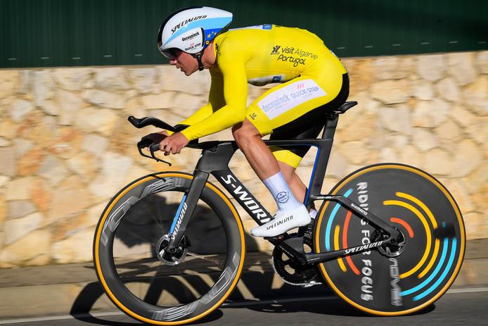 Vainqueur des Tours d'Algarve et de San Juan et de deux chronos, Remco Evenepoel était en toute grande forme avant l'interruption de la saison.