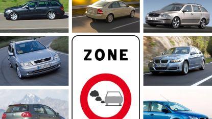 17 procent van alle wagens in Vlaanderen mag vanaf 1 januari niet meer in Antwerpen en Gent: deze diesels zijn verboden