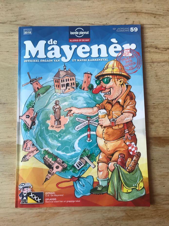 Sinds de oprichting in 1958 brengt CS De Mayenérs elk jaar een grote carnavalskrant uit. De krant heeft zich door de jaren heen enorm ontwikkeld.