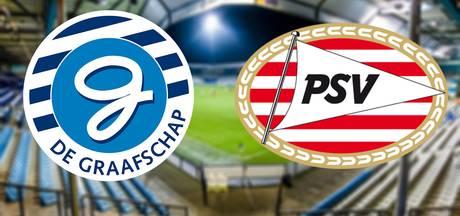 De Graafschap al vroeg op voorsprong tegen Jong PSV: 2-0