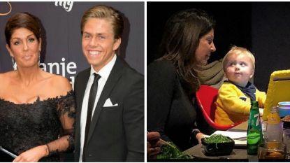 Familievete bijgelegd: weduwe Hazes en kleinzoon voor het eerst samen op de foto