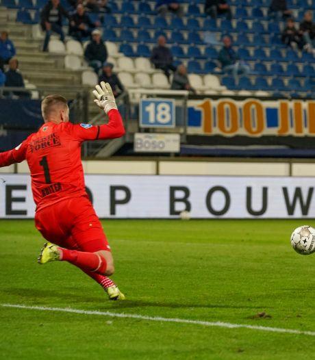 Spel Willem II frustreert Ruiter: 'We zijn niet eens in de buurt van een doelpunt geweest'