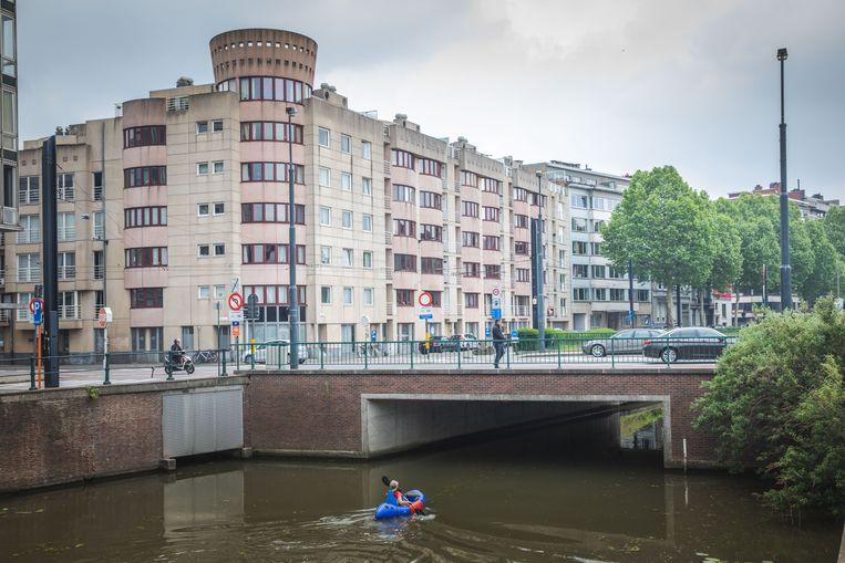 onder deze brug komt de fietsonderdoorgang