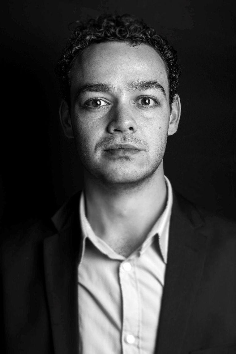 Chevy van Dorresteijn, lid van de Jonge Democraten en masterstudent onderwijswetenschappen aan de Universiteit van Amsterdam. Beeld