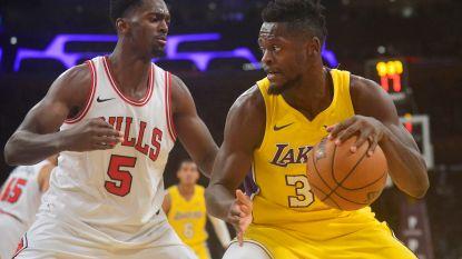 Lakers verslaan Bulls na knappe inhaalrace