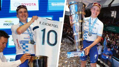 """Argentijnse fans bejubelen Evenepoel als """"Messi van de koers"""", maar Belg weigert die titel: """"Ik ben Remco"""""""
