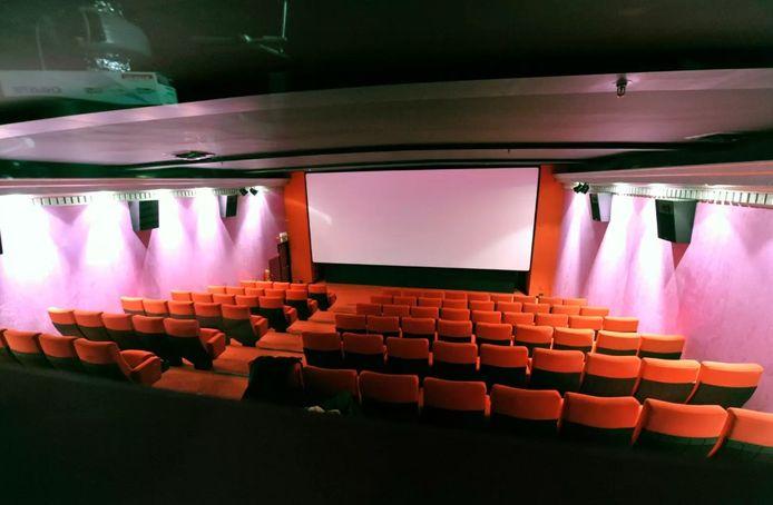 Une salle de cinéma de L'Aventure à Bruxelles.