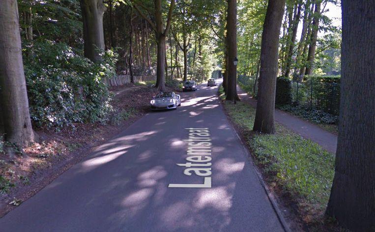 De Latemstraat in Sint-Martens-Latem.
