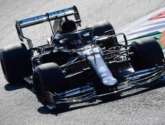 Hamilton de snelste in tweede vrije oefensessie in Italië