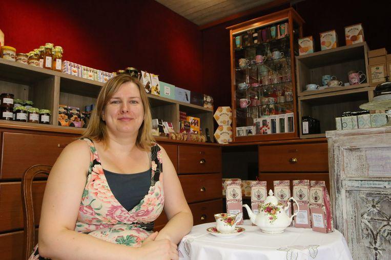 Jessica Van Humbeeck sluit haar theewinkel in de Leuvensestraat en zal vanaf nu workshops op verplaatsing geven.