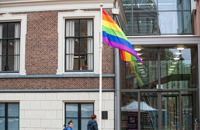 Het gemeentehuis van Wageningen.