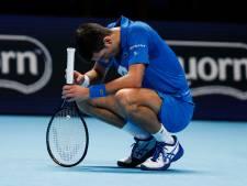 Djokovic in Londen verrassend onderuit tegen Medvedev