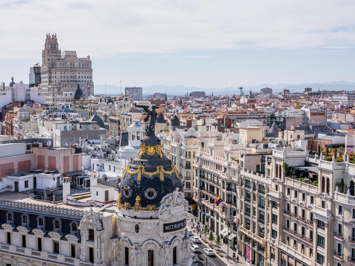 Het statige centrum van Madrid