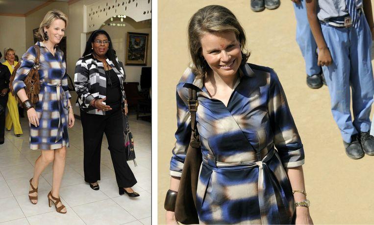 Een bezoek aan een UNICEF-missie op Haïti, december 2012 (links) / Een bezoek aan New Delhi in India, maart 2010 (rechts)