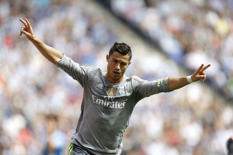 Real Madrid-speler Cristiano Ronaldo. Beeld epa