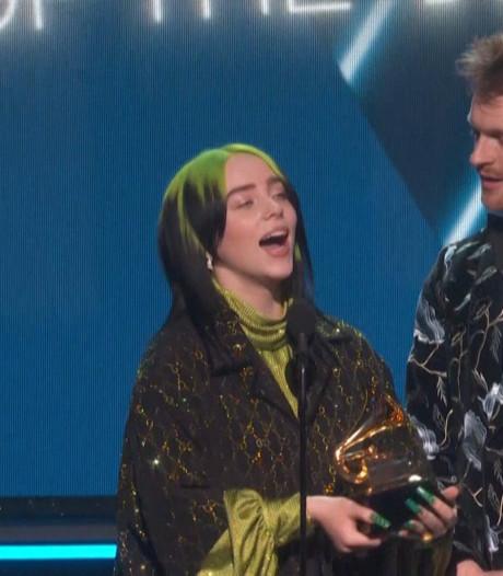 Fans Billie Eilish op de bres na haar smeekbede om geen Grammy te winnen