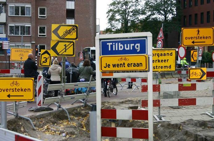 Tilburg fietsstad, photoshop (niet echt dus).