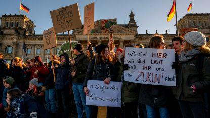 Ook Duitsland heeft zijn spijbelende klimaatbetogers: 30.000 scholieren eisen meer actie