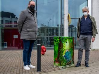 Straatkunst Tour Elentrik kleurt Zeelse elektriciteitskastjes