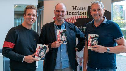 Hans Bourlon stelt nieuw boek 'De tijdreiziger' voor op Studio 100
