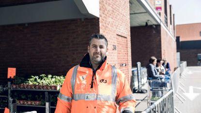En plots ziet je job er helemaal anders uit: veiligheidsagent Jo verhuist van nationale luchthaven in Zaventem naar Lidl in Wellen