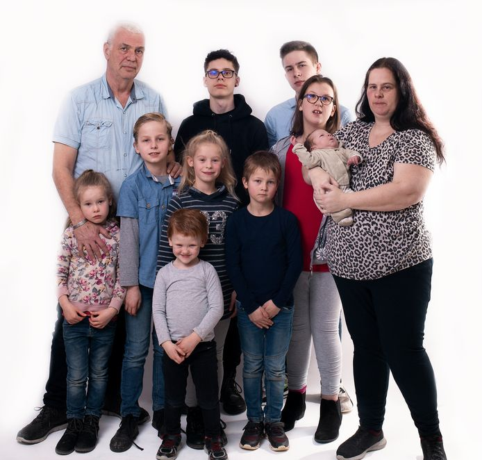 Familie De Waal uit Westendorp.