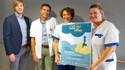 Lions Club steunt Tielt, Stad Boven de Wolken en betaalt voortaan de kistjes voor stilgeboren kinderen in Sint-Andriesziekenhuis