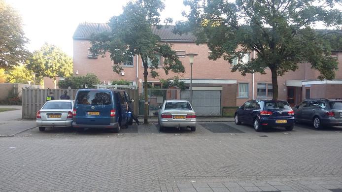 De woning aan de Stedumhof in Arnhem.