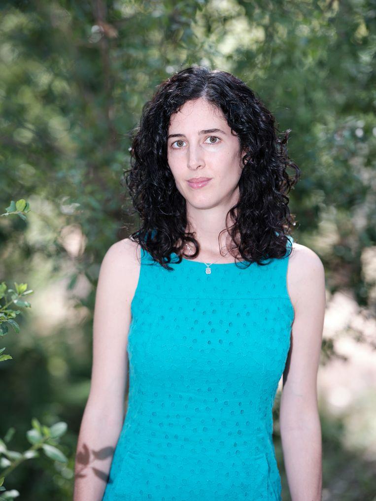 María Teresa Pay gebruikt de supercomputer om de samenstelling van de atmosfeer te onderzoeken. Beeld Dani Pujalte