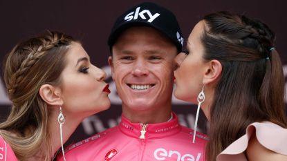 """Froome pleit na Giro-exploten zelf voor transparantie: """"Ik snap de vergelijkingen met Landis, maar ik wil mijn data gerust vrijgeven, hoor"""""""