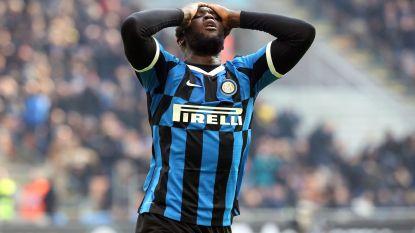 """Excuses volstaan. Inter beboet Lukaku niet voor corona-uitspraak: """"Nooit waren 23 van de 25 spelers ziek"""""""