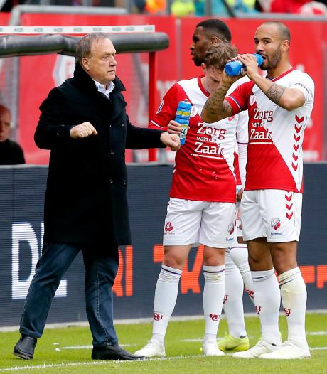 FC-fans komen met sfeeractie, Advocaat hoopt op volle bak in Galgenwaard